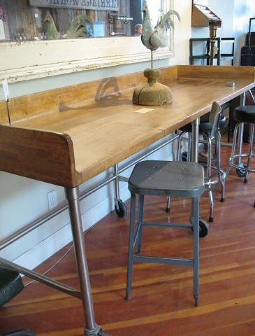 Vintage Industrial Work Desk sm